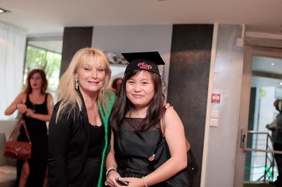 2. Fabienne Fons (EFAP Lyon) et Maïlys Vermaere, diplômée