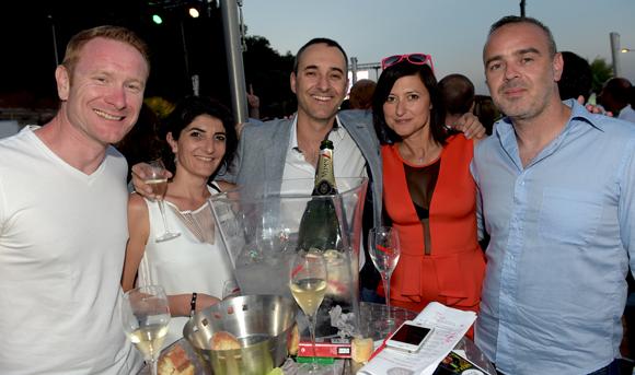 22. Jérôme, Géraldine, Florent, Severine et Anthony