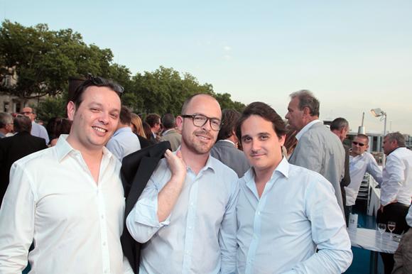 2. Nicolas Sagez (Aires d'Entreprise), Sébastien Nida (Keops) et Jérome Pouffier-Adnet (Keops)