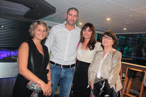 22. Pamela Favier (DTZ), Krim Ait Mokhtar (Ait Mokhtar), Juliette Caudard-Breille (Catella) et Marinette Giguet