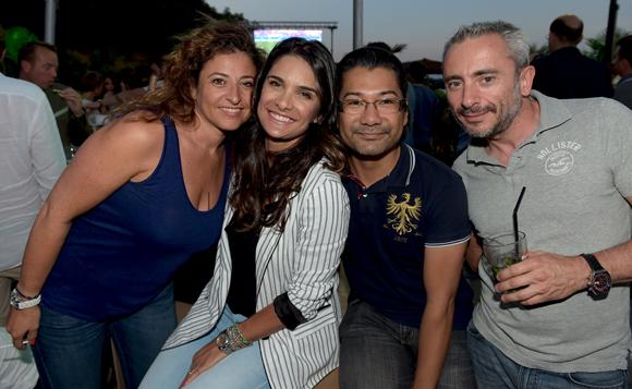 24. Cathy, Tatiane, Michel et Patrick