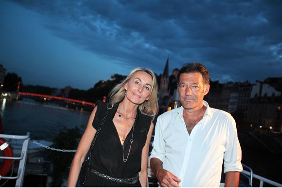 24. Nathalie Zimmermann (Real Blue) et Thierry Malatre (Aires Entreprise)