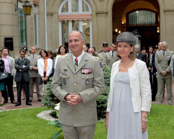 24. Le général Martial de Braquilanges et son épouse Elisabeth