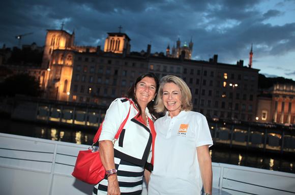 25. Corinne Buisson (BNP Paribas) et Marie Caudard-Breille (DCB)