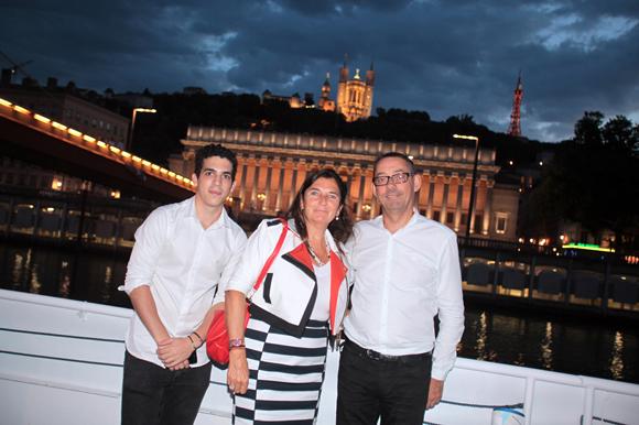 27. Corinne Buisson (BNP Paribas) entourée de Xavier Maringe et Fréderic Guillermim (Soluvim)