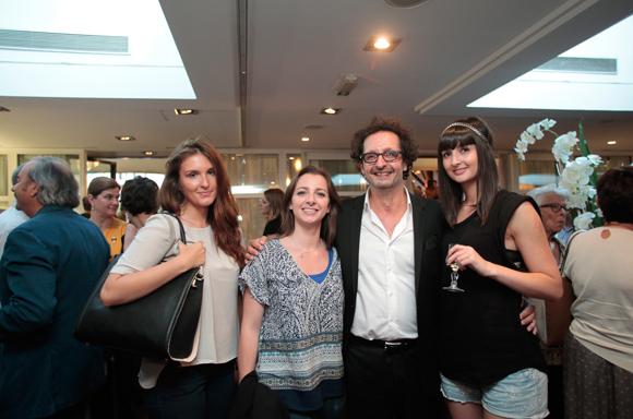 28. Severine Noir, Eve Di Palma (agence Fantastic), Jean-François Croës, directeur de l'EFAP Rhône-Alpes, sa fille Margot