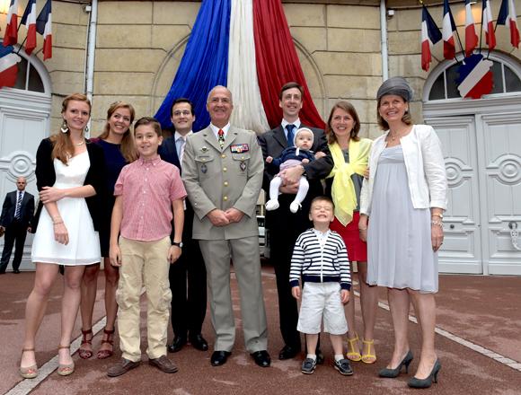 31. Le général Martial de Braquilanges et sa famille