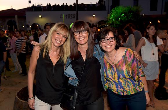 34. Catherine, Marilou et Marie-Laure
