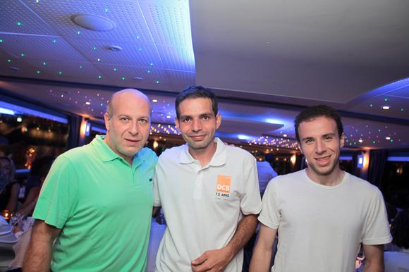 34. Benjamin Ackoun (Ackoun Production), Philippe (DCB) et Julien