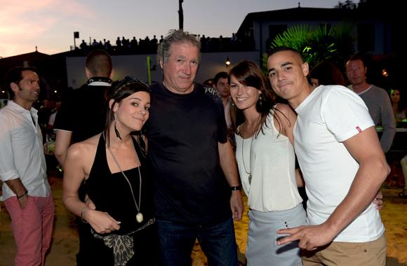 36. Maëlle, Franck, Audrey et Beber