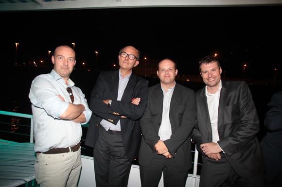 37. Guillaume Grange Babylone (AA Group), Patrick Bowdler (Sud Architectes), Laurent Petitjean (ASTOM) et Christophe Kohler (Sud Architectes)