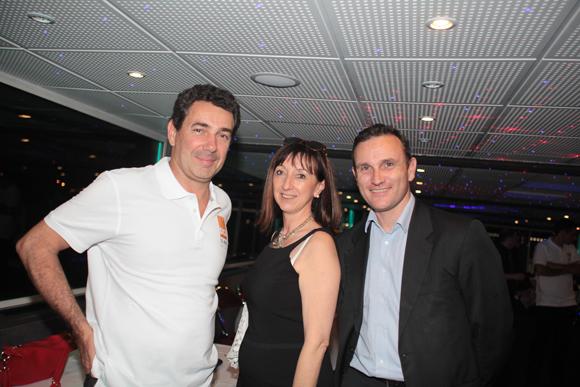 39. Julien Rollet (DCB), Dominique Doutaz-Moine (BNP Paribas Real Estate) et Benoit de Fougeroux (BNP Paribas Real Estates)