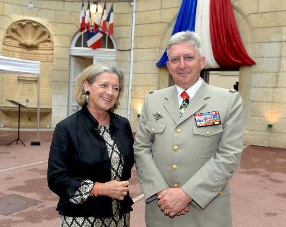 43. Caroline Desrousseaux de Médrano et le Général Bertrand Ract Madoux