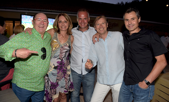 48. Guy, Valérie, Sébastien (Flach Garden), Patrice et Fabrice