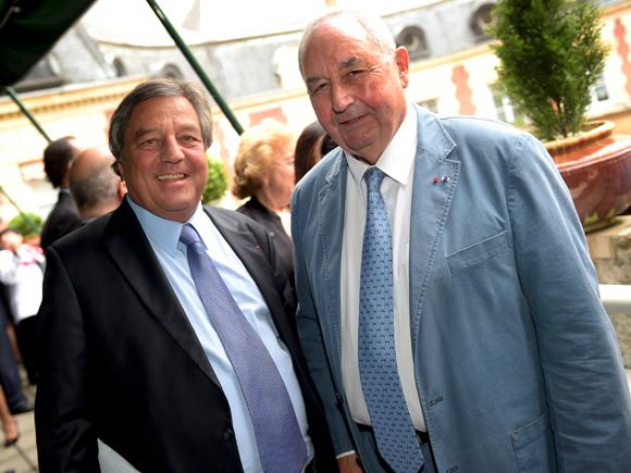 48. François Turcas (CGPME) et Jean-Paul Mauduy, président de la CRCI