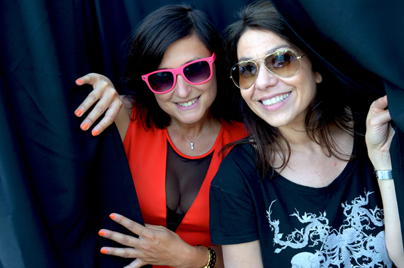 6. Séverine, organisatrice de la soirée et Karen (Tcheezebox)