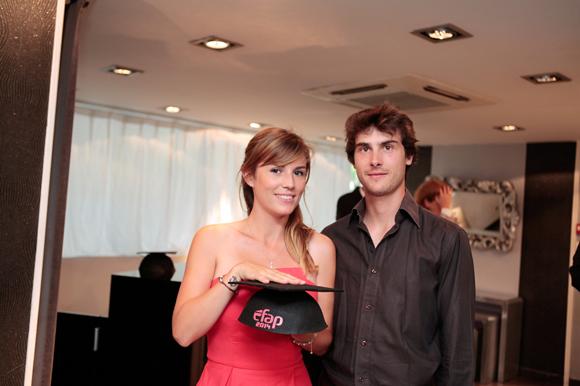 7. Maïa-Lisa Le Poder, diplômée et Charlie Gombert