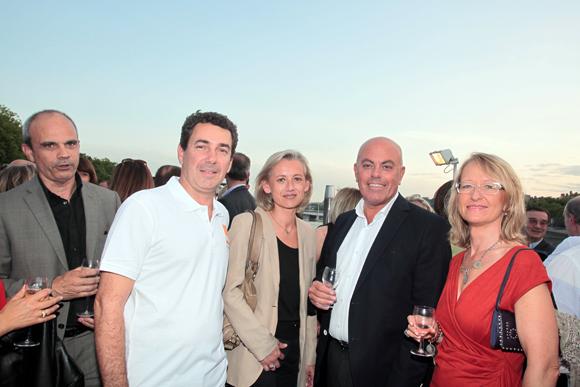9. Julien Rollet (DCB), Maitre Sophie Trojani, avocat, Eric Mazoyer, mairie de Limonest adjoint à l'urbanisme, son épouse Fabienne