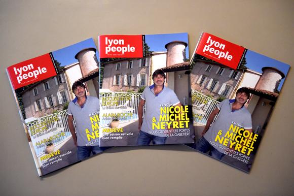 Michel Neyret en couverture de Lyon People