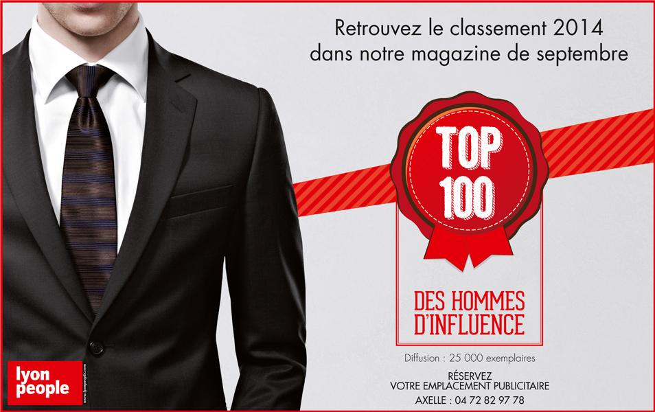 TOP 100 des hommes d'influence 2014. Il y a ceux qui en seront…
