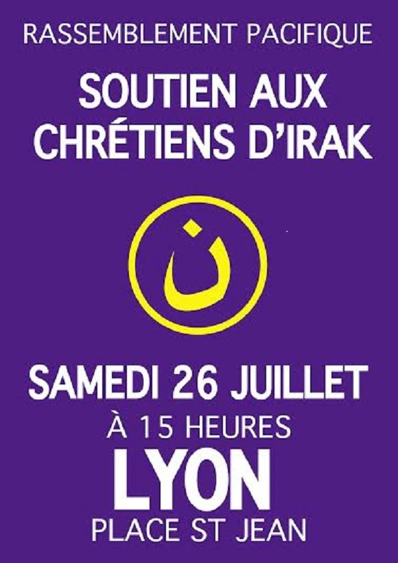 Réunion de soutien à Lyon pour les chrétiens d'Irak