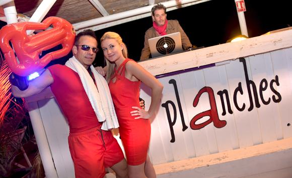 Beach Party aux Planches