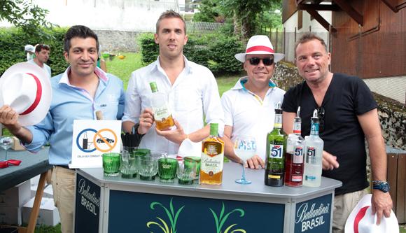 11. L'équipe Pernod de Jean Burdy avec Pierre-Yves Gas