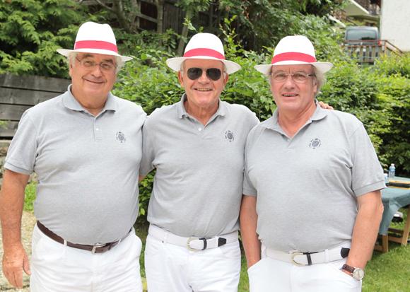13. Jacques Pedrini, Jacques Wassermann et Thierry Jallibert