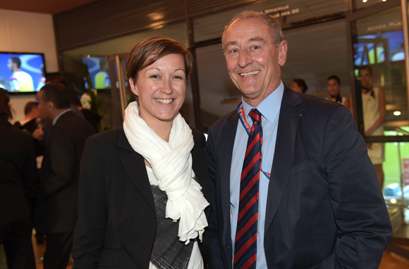 15. Elodie Mijieux et Patrick Aujogue (Kéolis)