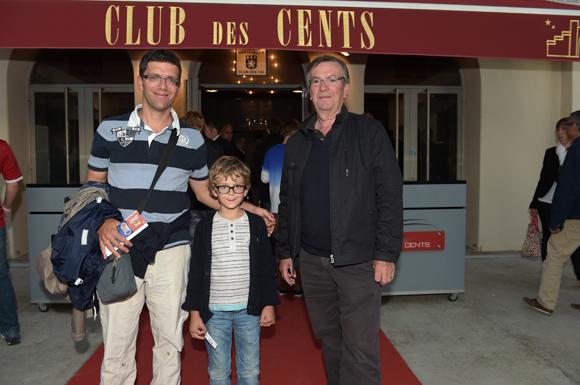 20. Jean-Noël Joatton, son fils Jérôme et son petit-fils Léandre