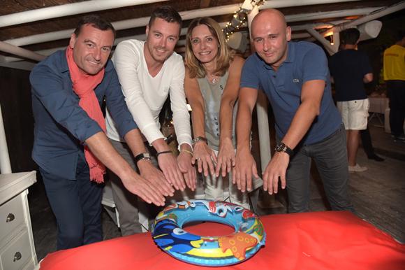 21. Didier, Bruce, Val et Mathieu