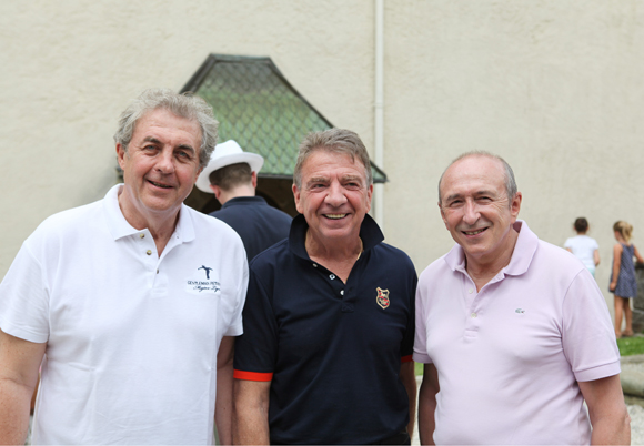 22. Richard Brumm, Bernard Fontanel et Gérard Collomb