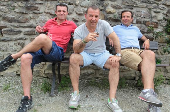 27. Christophe Dantin, Lionel Escot et Eric Morello