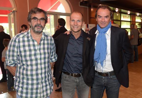 3. Didier Portet (D2PR), Olivier Seraut (Adequat) et Norbert Fontanel (Fontanel)