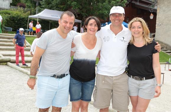 3. Lionel Escot, Christelle Grosselin, Jean-Michel Abou et Delphine Morin