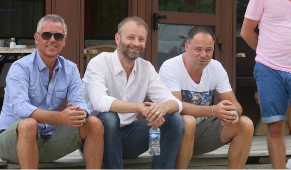 43. Philippe Montanay, Marco et Jérôme Guillot