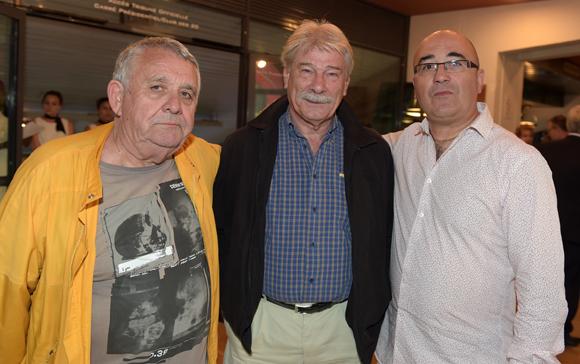 8. Pupu, Marco Giron et  le traiteur Franck Sucillon