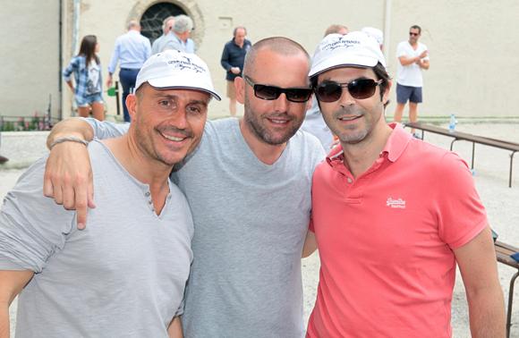 9. Pierre Artru, Jean-Luc Richner et Nicolas Priest
