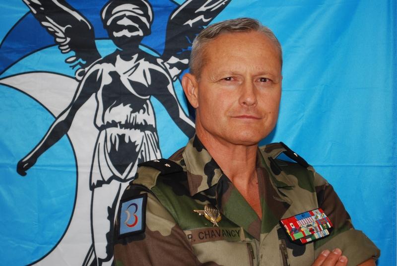 Le général Pierre Chavancy, nouveau gouverneur militaire de Lyon