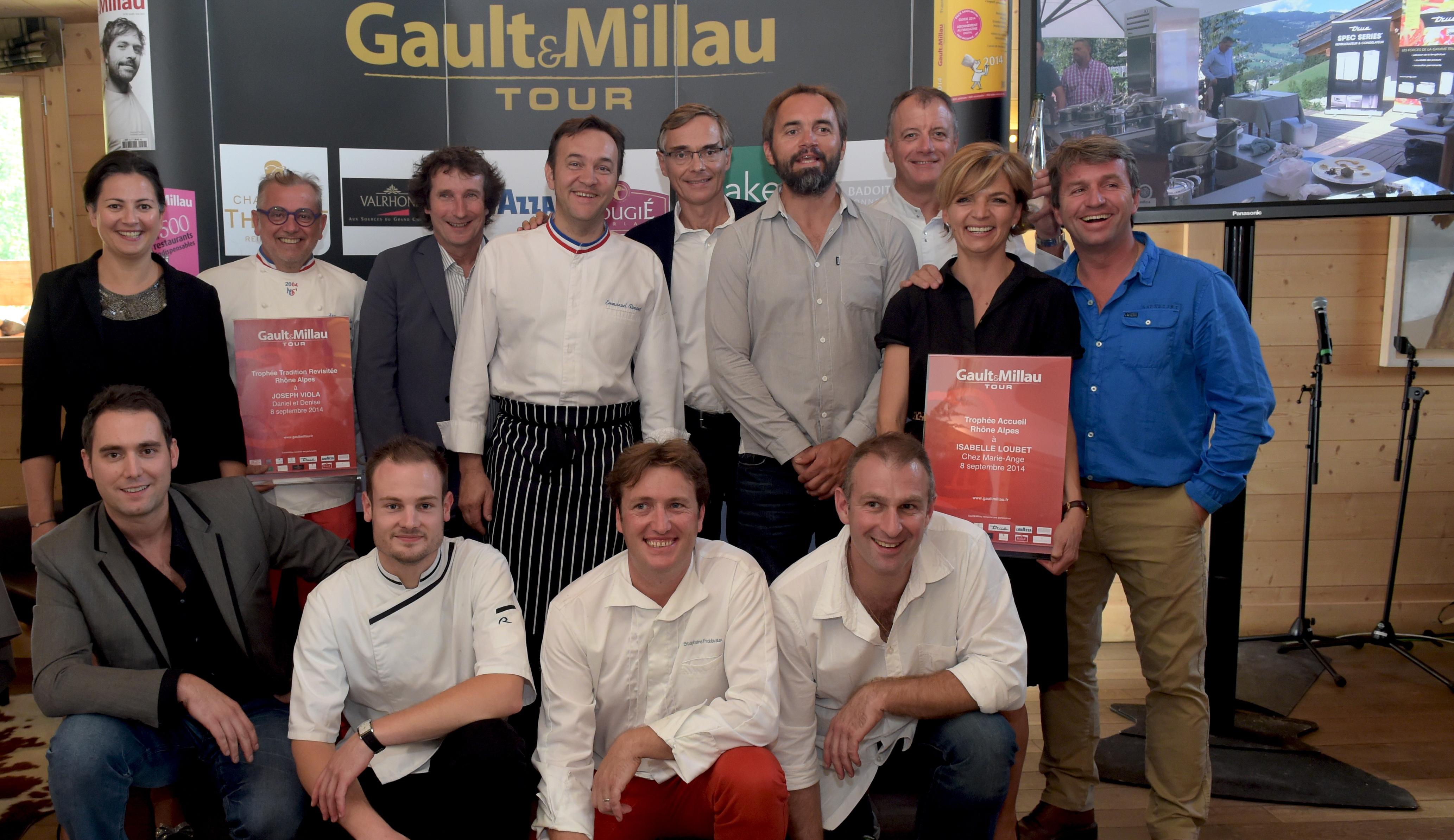 Gault & Millau Tour 2014. La crème des chefs en démonstration à Megève