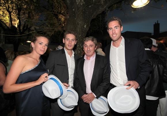 10. Charlotte Lecomte (Richardson), Guillaume Bonnici (Synergie Fit), Jean-Bernard Poissant (Conseil Général du Rhône) et Charles-Edouard Menard (Fatton)