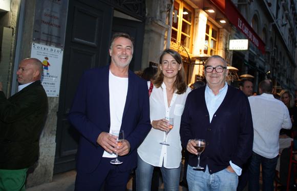 10. Olivier Chatard (Delta-Light), Maitre Virginie Levert, avocat et Eric Renividaud (EAR)