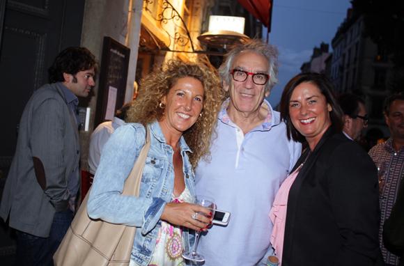 11. Sophie (Bois & Sofa), Albert Dray (Le Café du Pond) et Géraldine