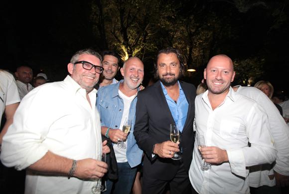 12. Jérôme Bulland (Food Up), Régis Bétoule (O Capot), Henri Leconte et Christophe Caracostas (Bo Invest)