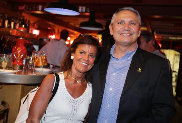 12. Béryl Maillard, consul de St Domingue et Hervé Gachon (Lodge villa Pauletta Costa Rica)