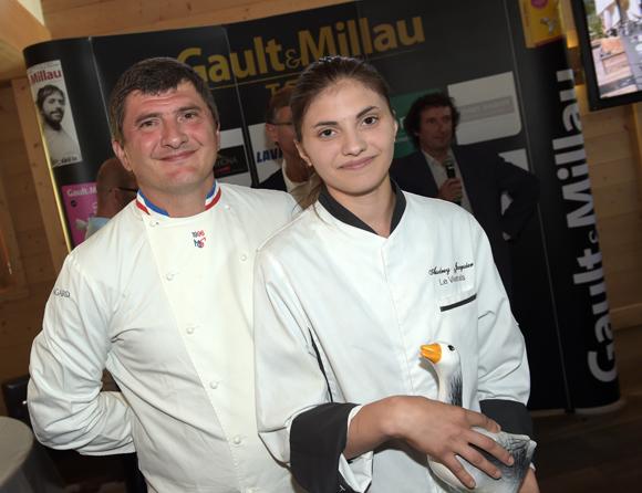 12. Williams Jacquier et sa fille Audrey (Le Vivarais à Lyon)