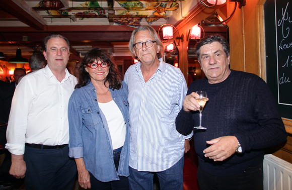 13. Philippe Girault, Madile Malard, Gilles Humbert, architecte (Tout au fond de l'Allée) et Pedro Perrez