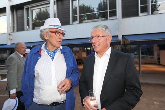 1. Albert Dray (Café du Pond) et Elie Cunat (Gauduel)