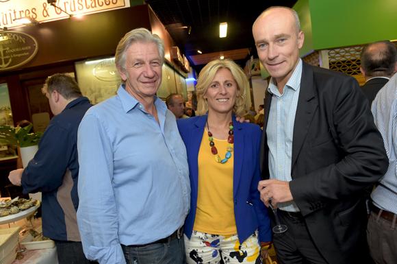 14. Claude Polidori (Maison Victoire), Danny Morsilli (La Sphère des Possibles) et Jean-Pierre Vacher (TLM)