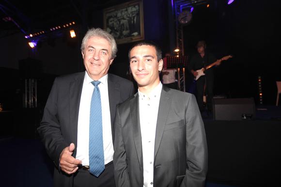 15. Les adjoints au maire de Lyon : Richard Brumm (Finances) et Yann Cucherat (Sports)